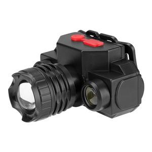 Image 2 - USB مصباح COB قابل للشحن LED كشافات المصباح 90 درجة دوارة رئيس مصباح الشعلة مصباح يدوي مقاوم للماء الصيد والمشي لمسافات طويلة