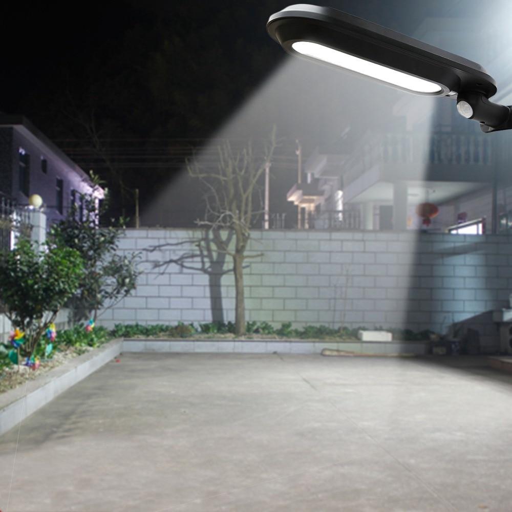 LAIDEYI Solar Led Street Lamp Waterproof Outdoor Landscape Garden Light Human Sensing Led Solar Wall Light LED Street Light
