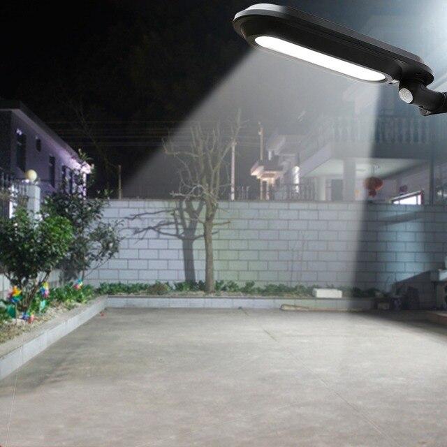 Laideyi Solar Led Street Lamp Waterproof Outdoor Landscape Garden Light Human Sensing Wall