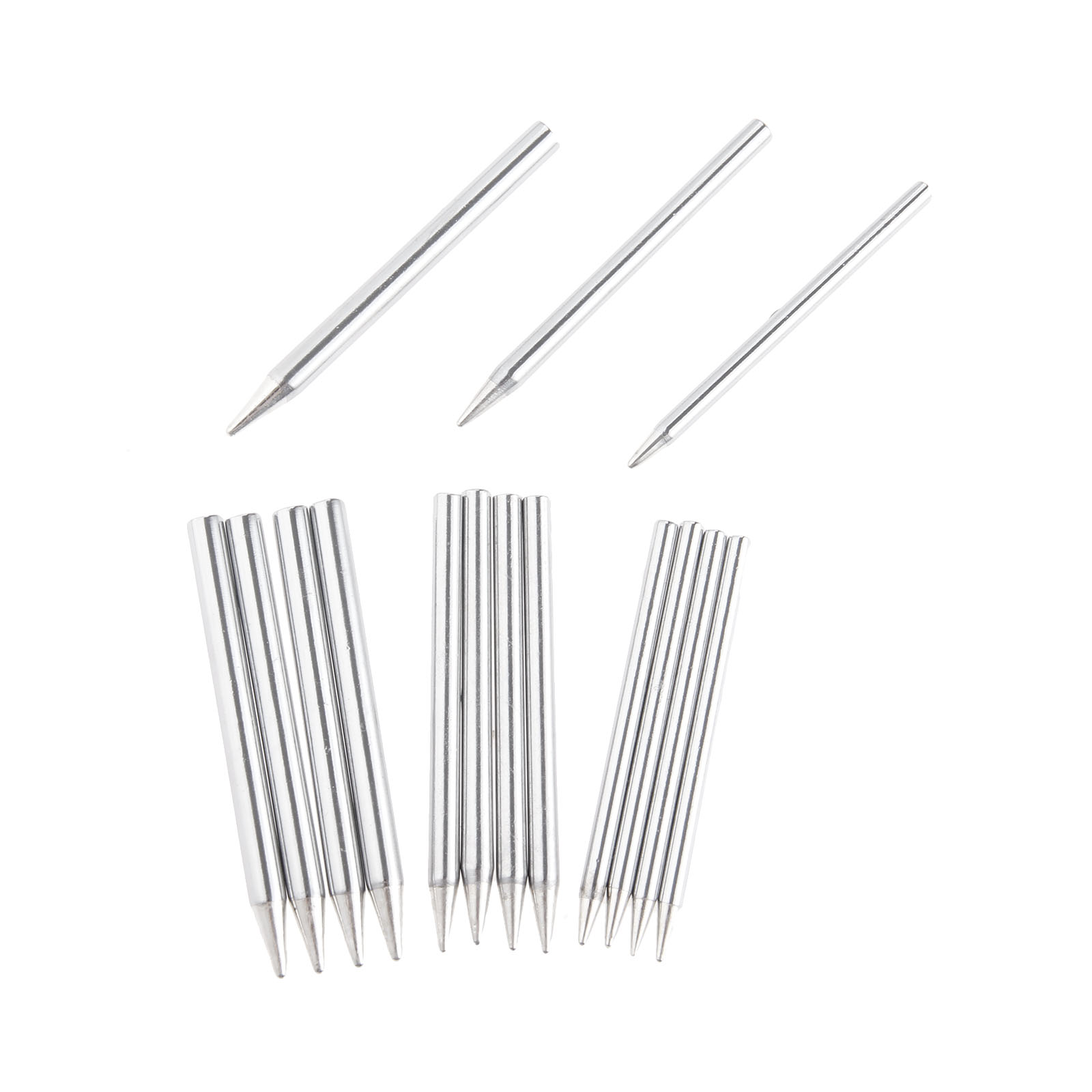DRELD 5Pcs/Set Soldering Iron Tips Lead-Free Solder Tips 30W/40W/60W Replacement Welding & Soldering Supplies Welding Tools