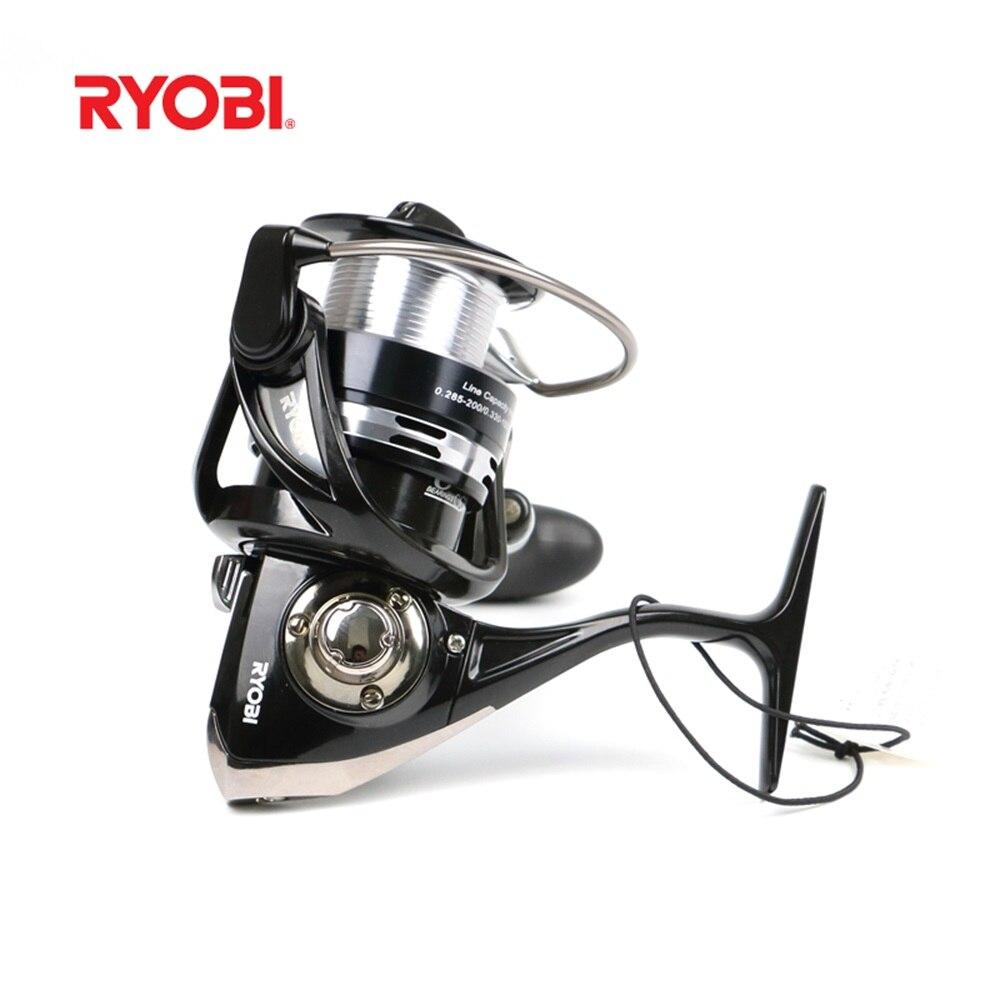Nouveau 100% noir RYOBI HPA haute qualité filature pêche bobine ange rouleau carpes matériel de pêche Carretilha Pesca Mo nouveau ARCTICA