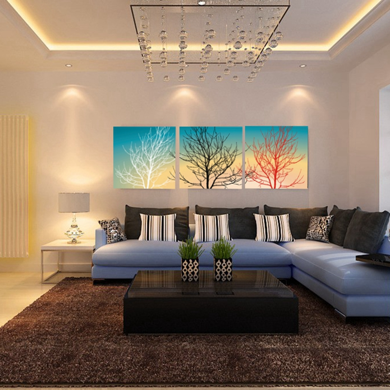 oil paintings customizable canvas wall art 3 pcs modern