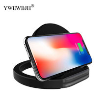YWEWBJH Fast Wireless Charger For Galaxy S6 S7 S9  Qi With Stand Holder iPhone 8 Plus XS Max XR