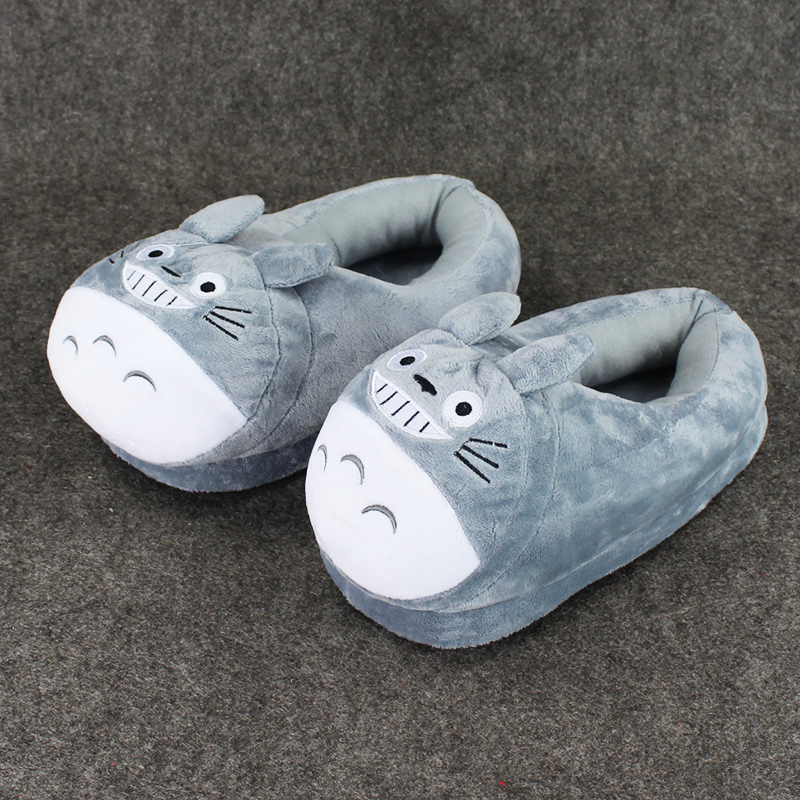Indoor Cotton Shoes,Evil Jack-O-Lantern Skull 3D Printed Comfortable and Soft House Slippers