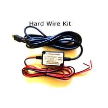 Micro usb 3.5 m kit de coche de alambre duro para mini 0803 mini 0805 mini 0806 cámara del coche dash cámara kit de cableado