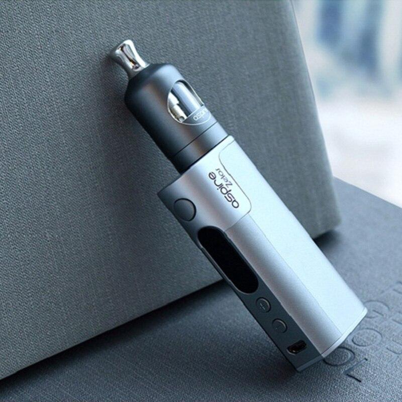 Aspire Zelos 50 W kit complet e cigarette boîte mod avec réservoir vaporisateur boîte mod kit de démarrage cigarette électronique vaporisateur ecig ecigarette