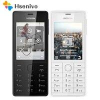 100 Original Unlocked Nokia 515 Single Sim Card 2 4 Inches 5MP Camera 1200mAh Single Core