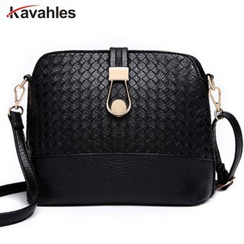 Women Sling Bags Weave shell Women Shoulder Bags Fashion Leather Sling Crossbady Bag messenger bag