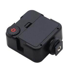 Image 3 - Mini DC 3V 5,5 W 49 LED cámara de vídeo Panel de luz lámpara 6000K para Canon Nikon DSLR Cámara videocámara DVR DV fotografía