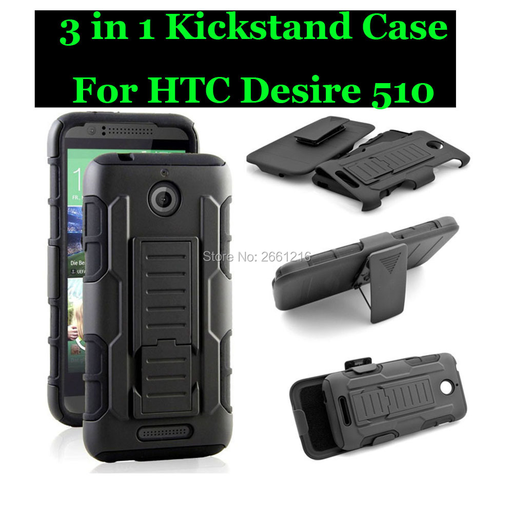 """For HTC Desire 510 4.7 Inch Shockproof Future Armor Belt Clip Holster Case With Kickstand Cover For HTC Desire 510 4.7"""""""