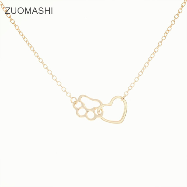 necklace circle linked products gold famke final