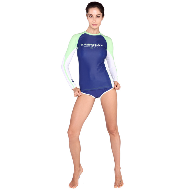 7b9a4c7ca0d3a SABOLAY diving suit speed dry clothing Swimwear for Woman outdoor sports  clothing sunscreen clothing diving pants jellyfish