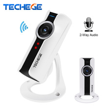 Mini Wifi VR IP Camera 720P VR HD H.264 Smart 180 panoramic Network Surveillance 1.0MP wireless Camera IR 10M Night Vision