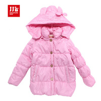 baby girls jacket winter baby coat baby down coat 2015 new arrial brand baby outwear baby girls clothing