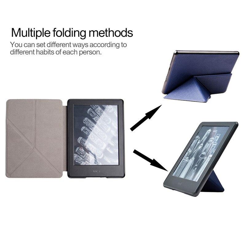 Smart PU Leather Slim Transformer Case for Amazon Kindle Paperwhite 4 6
