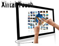 Xintai Touch Real 10 points 65 IR Infrared Touch Screen Overlay without glass for interactive bar