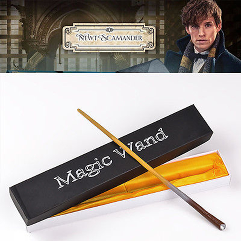 Magic Wand Movie Fantastic Animals and Where to Find Them Newt Scamander Magic Wand COSPLAY Gift Harry Potter Stick No Flashing ...