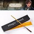 Varita mágica Película de Animales Fantásticos y dónde Encontrarlos Newt Scamander Regalo COSPLAY Harry Potter Varita Mágica Palo No intermitente