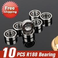 10pcs R188 Bearing Ball For Spinner Toys Finger Spinner Hand Spanners Spiner Tri Spinner Fidget Accessories