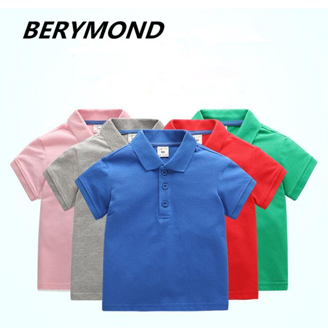9e85ee391a US $9.09 48% OFF|Hot Boys Polo Shirt Short Sleeve 2018 Summer New Arrival  Boys Clothes Kids Polo Size 2 7Y Children Clothing Boys Polos Brand Top on  ...