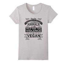"""Help Animals Be Vegan"" women's shirt / girlie"