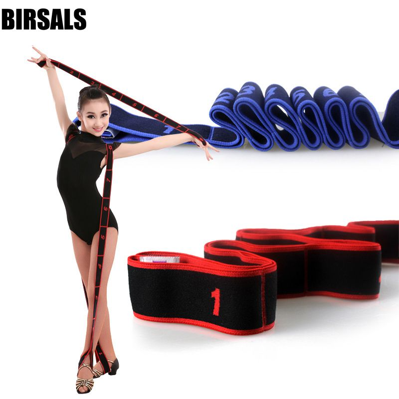 Gymnastics Children Latin Bands Pilates Yoga Stretch Resistance Adult Fitness Elastic Crossfit Dance Training Workout004