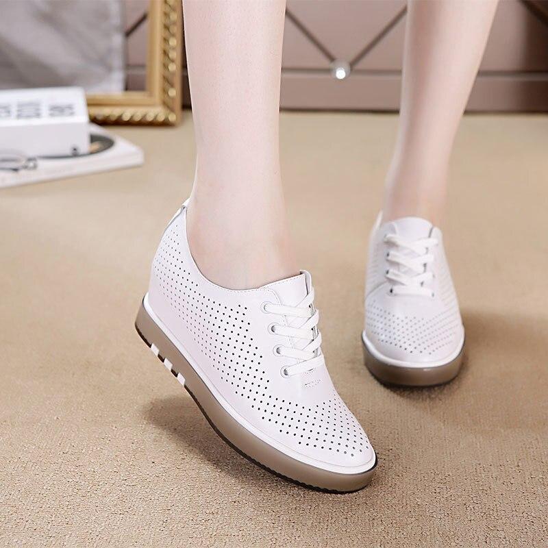 Hidden Heel Sneaker Thick Bottom Shoes