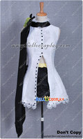 Vocaloid Cosplay Just A Game White Camellia Rin Kagamine Costume H008