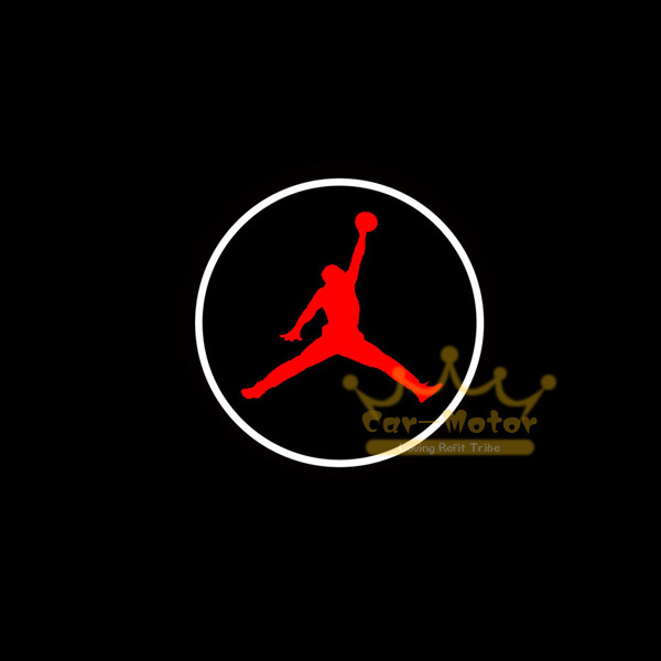 2x Car Door Welcome Courtesy Laser Projector Puddle Spotlight Michael Jordan Dunk Logo Ghost Shadow LED Light 1033 In Assembly From Automobiles