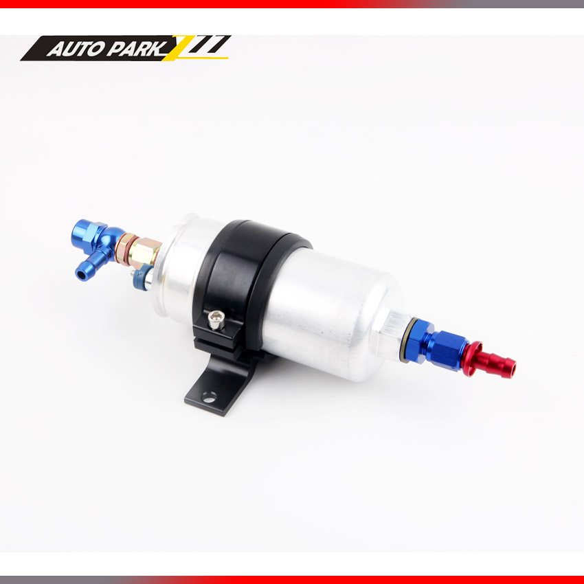 oil pump 0580 254 044 external pump Inline Electric High performance Fuel Pump come with AN6 fitting Fuel Pump Bracket promotion lowest price high performance 12v electric fuel pump for jaguar color for head red black green