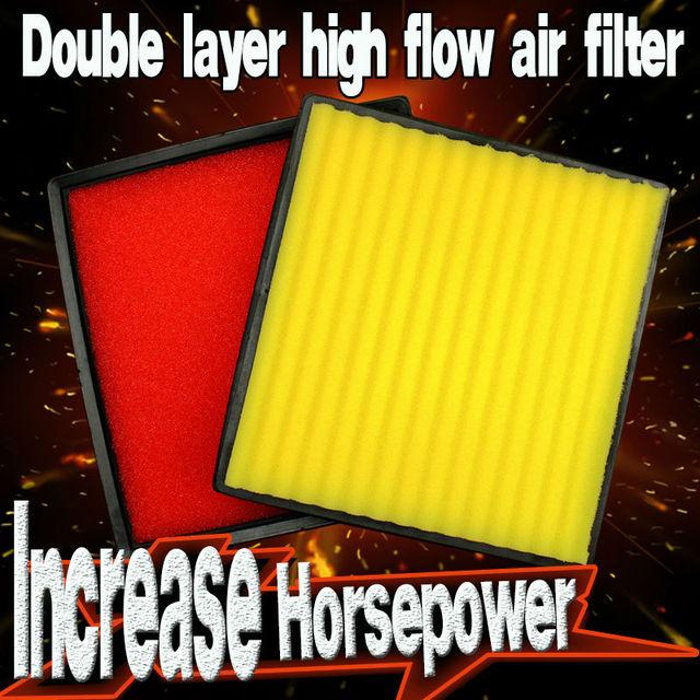 Filtro de aire de alto flujo apto para CHEVROLET recubierta de 2011-2014 (Partido kn 33-2964)