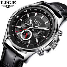 LUIK Horloge Mannen Mode Sport Quartz Klok Heren Horloges Top Brand Luxe Lederen Business Waterdichte Horloges Relogio Masculino