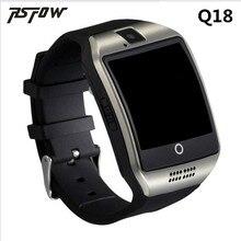 Продажа Bluetooth Smart часы Q18 интеллектуальные часы для Android телефон с Шагомер Камера sim-карты WhatsApp вызова сообщение Дисплей PK A1