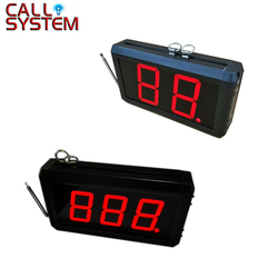 2-digit or 3-digit Display Receiver Host Voice Reporting Broadcast Restaurant Pager Wireless Calling System 433.92MHz K-302