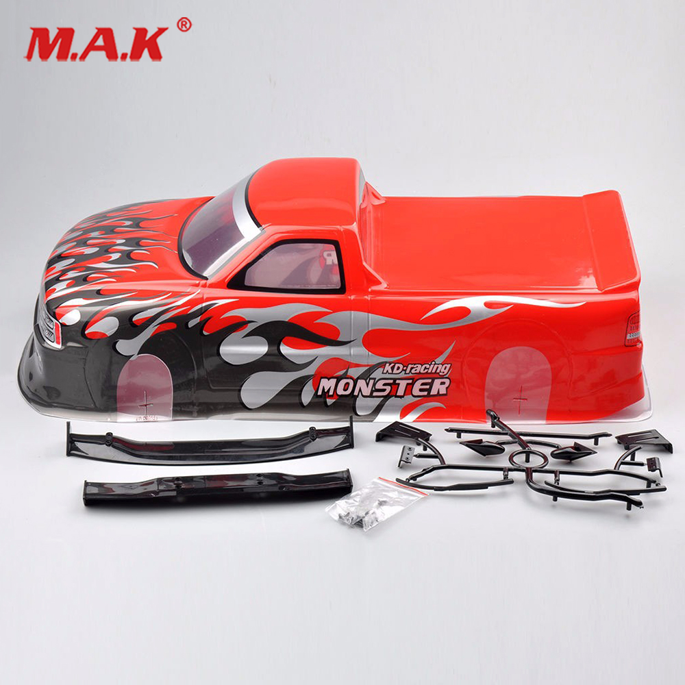 1:10 Scale 94188 Monster Truck Body Shell Painted 029R For RC HPI HSP Bigfoot Car Accessories hsp racing rc car spare parts accessories bodyshell 420 155mm for 1 10 scale monster truck 94188