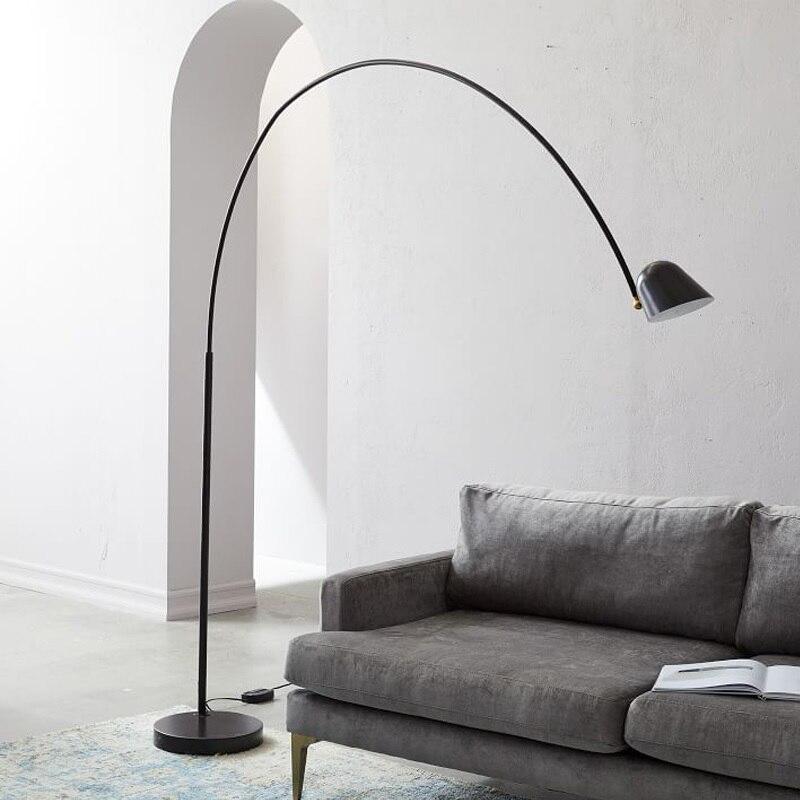 Espanha Projeto Luminária de Chão com Braço Longo/Cabeça Ajustável Luz/Iluminação da Tarefa