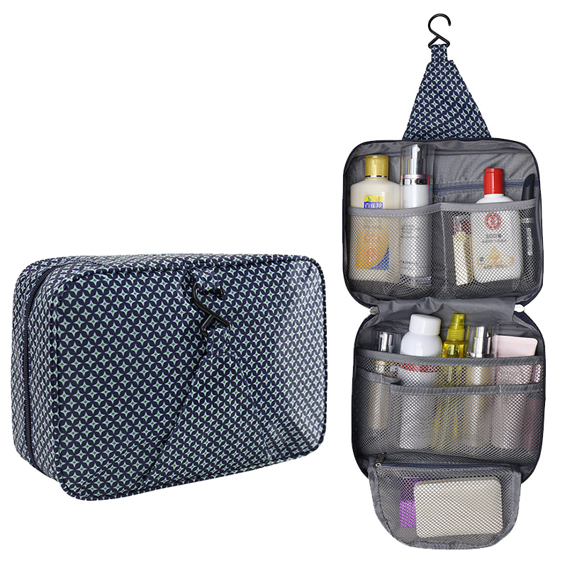 Hanging women's Cosmetic Bag Travel Makeup Cases Pouch Organizer Beauty Products Brushes Lipstick Toiletry Accessories Supplies