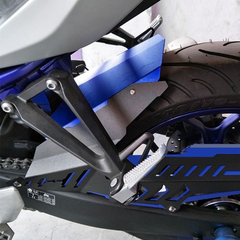 For Yamaha YZF R3 R25 MT03 CNC Rear Fender Mudguard Chain Guard Cover Kit for YAMAHA YZF R25 R3 2013 2017 MT 03 2015 2017 in Covers Ornamental Mouldings from Automobiles Motorcycles