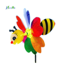 Small Animal Stereo Six Leaf Pattern Paper Windmill Stall Selling Toys Lovely For Children