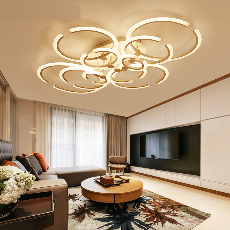 LICAN Modern Ceiling chandelier For Living Room Bedroom AC85-265V lustre de plafond moderne luminaire plafonnier home decor led ceiling lights living room bedroom lustre de plafond moderne luminaire plafonnier ac90 265v lampara de techo ceiling lamp led