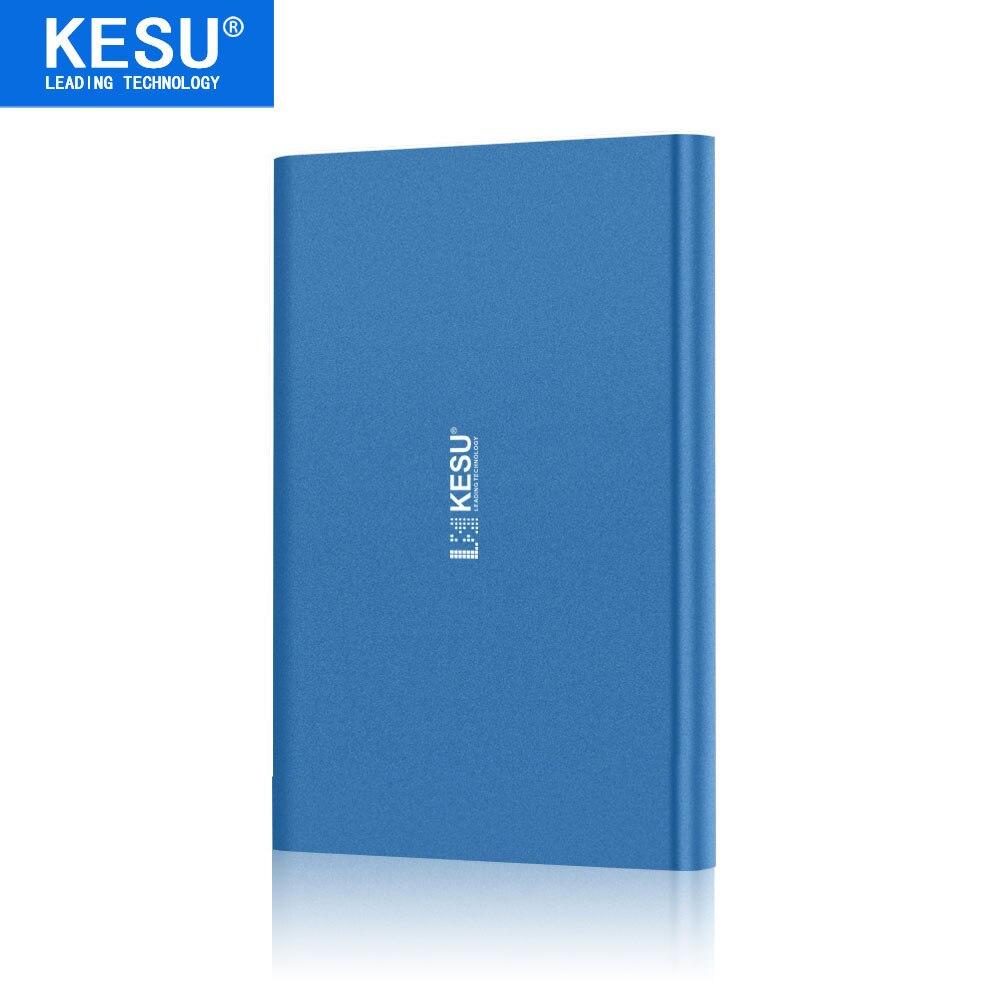 Original Kesu 2,5 metall Schlanke Tragbare Externe Festplatte Usb 3.0 320 Gb Speicher Hdd Externe Hd Festplatte 5 Farbe Auf Verkauf Externer Speicher