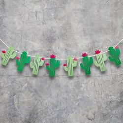 1 conjunto diy festa banners decoração mexicano cactus festival de aniversário bandeiras dia das bruxas páscoa aniversário de casamento suprimentos