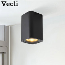 Square LED Surface Mounted Ceiling Downlight for Room/Corridor/Hallway AC85-260V Design Spotlight
