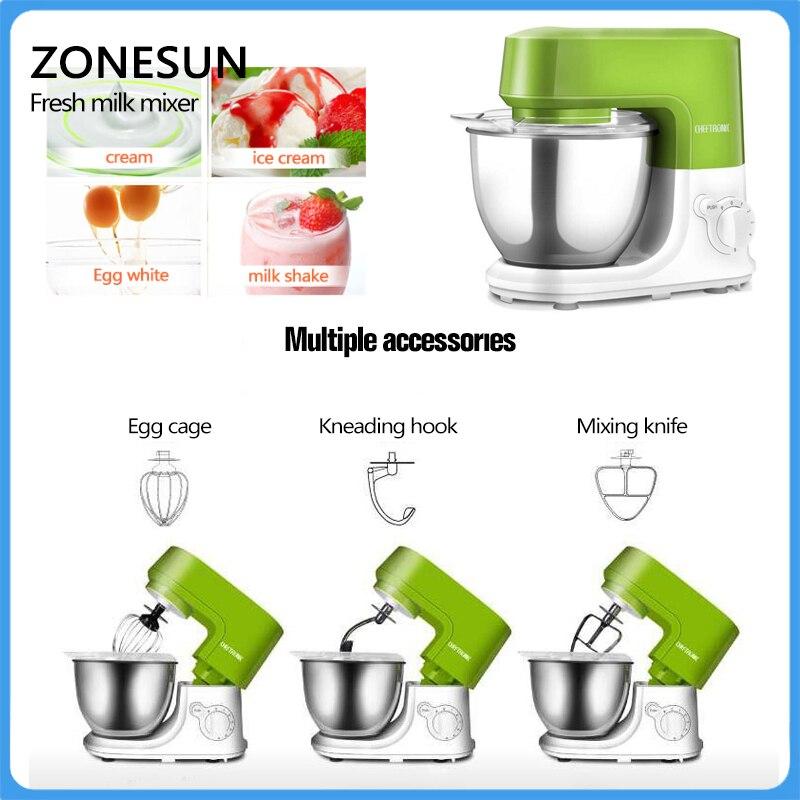 ZONESUN China Manufacturer Factory Price Real Fresh Fruit Ice Cream Machine New Zealand Ice Cream Mixer fruit ice cream feeder from factory selling gelato fruit nuts mixer