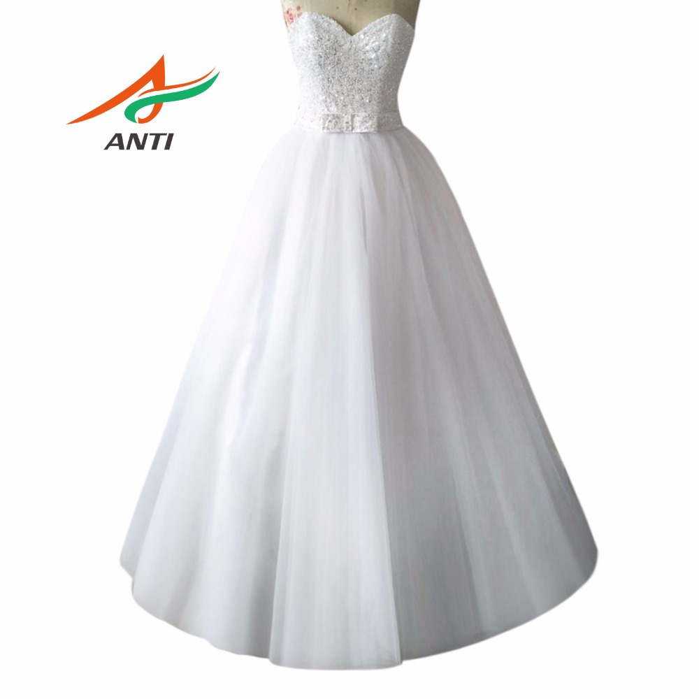 Anti high end luxury wedding dress sweetheart ball gown for High end wedding dress