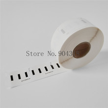 4 x рулона Dymo S0929120 DymoS0292120 совместимые этикетки 25 мм x 25 мм 750 этикетки в рулоне