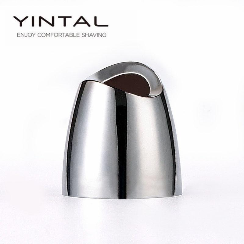 YINTAL Rasierapparat-Basis Doppelseitig Rasierzubehör für klassische Rasiermesser-Basis 1 Stück (Nur Basis ohne Rasiermesser) # PJ011