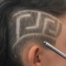 Профессиональные Волшебные гравировальные ножницы для бороды, ножницы для стрижки бровей, ручка для тату, парикмахерские ножницы, масляная голова для бровей, резьба по дереву