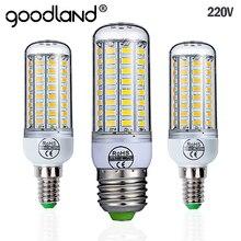Goodland E27 LED Lamp 220V LED Bulb SMD 5730 E14 LED Light 24 36 48 56