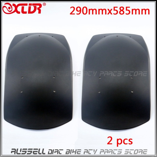 US $15 07 |X2 Fender Mudguard for 150cc 250cc Kinroad Roketa SUNL HAMMER  HEAD SAHARA ATV Quad DUNE Buggy Moped 290mmx595mm-in ATV Parts &  Accessories